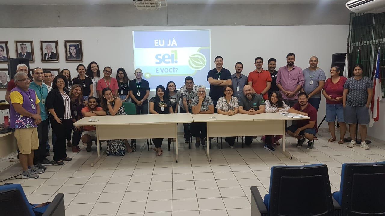 Comissão SEI/UFAM visita FAARTES, ICB, FES, FLET e FEFF
